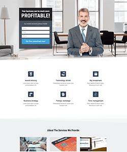Financiera Landing WebPageSP.com