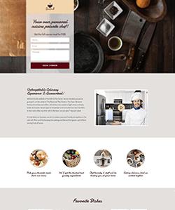 Chef Landing WebPageSP.com