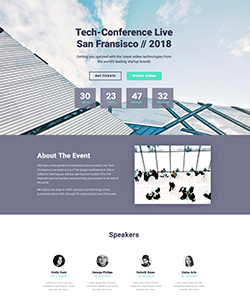 Evento2 Landing WebPageSP.com