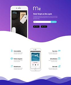 MobileApp2 Landing WebPageSP.com