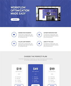 Producto3 OnePage WebPageSP.com
