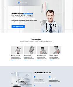 Medicina Landing WebPageSP.com
