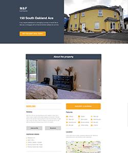 Inmobiliaria4 Landing WebPageSP.com