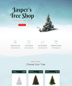 Navidad4 OnePage WebPageSP.com