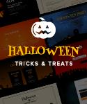 Halloween OnePage WebPageSP.com