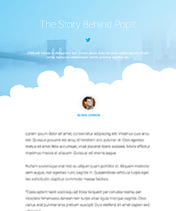 Blog OnePage WebPageSP.com