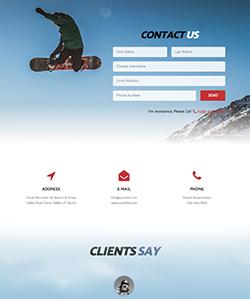 SnowBoard Contacto WebPageSP.com