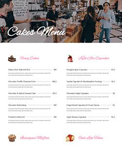Pastelería Servicios WebPageSP.com